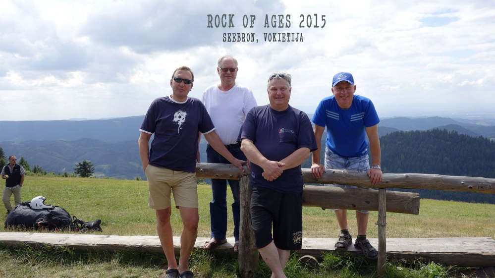 Rock Of Ages 2015. Jie jautė, matė ir girdėjo (2/4)