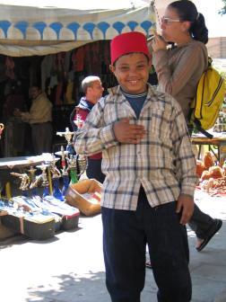 Jaunasis pardavejas Kairo turguje